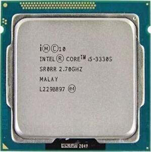Intel Core i5 3330S @ 2.70GHz (Used)
