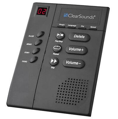 Big Button Digital Amplified Answering Machine Slow Speech 30dB Hearing ANS3000