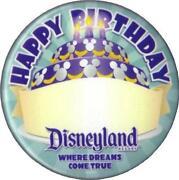 Disney Birthday Button