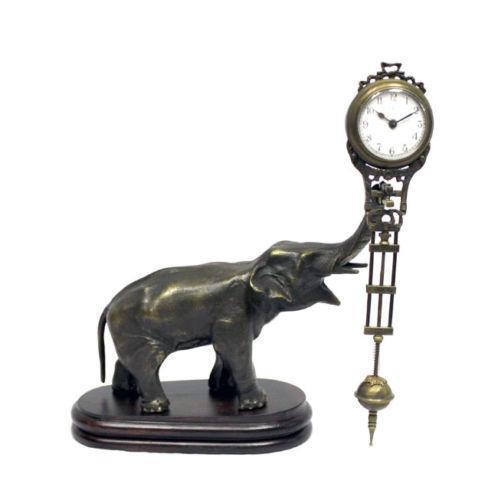 Elephant Clock Ebay