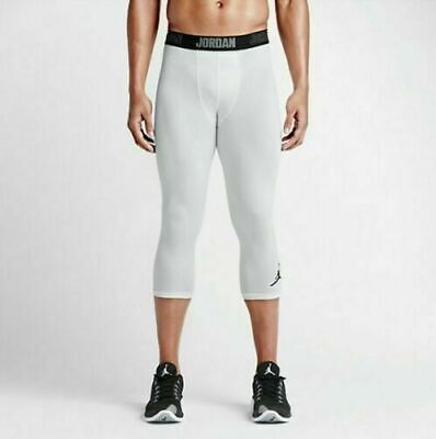 - 724777-100 New With tag Nike Men 3/4 Jordan 23 Alpha Dry tight training PANT