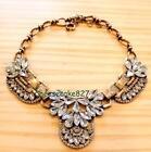 J Crew Crystal Cluster Necklace