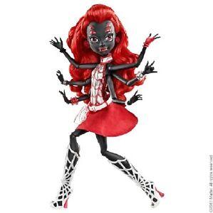 SDCC Exclusive 2013 Mattel Monster High  Spider as Webarella SAMMLER UNGEÖFFNET