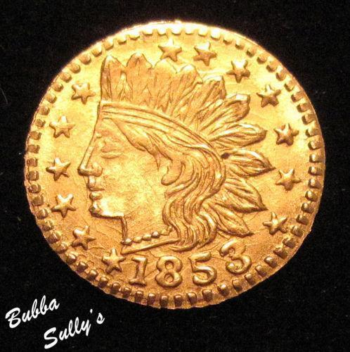 1853 California Gold Ebay