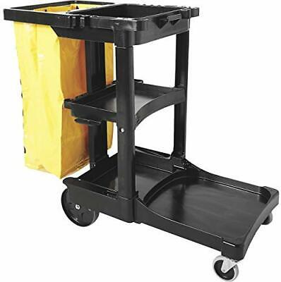 New Rubbermaid Janitor Cleaning Cart Truck 2000 - Model Number Fg617388bla