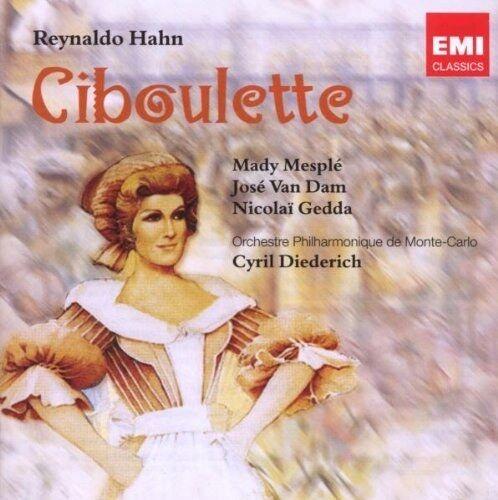 ██ OPER ║ Reynaldo Hahn (*1875) ║ CIBOULETTE ║ Nicolai Gedda ║ 2CD