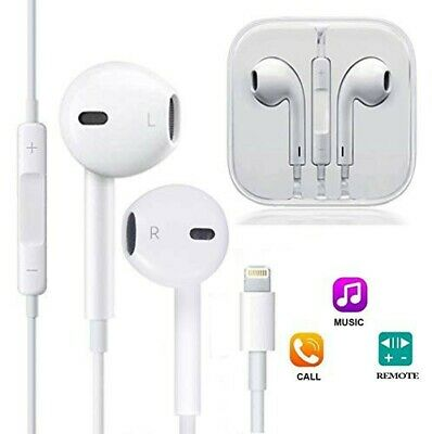 Bluetooth Lightning Earphones Headphones Mic for Apple iPhone 7 8 Plus X XR iPad
