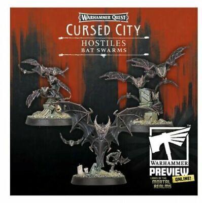 Cursed City Bat swarms aos warhammer undead (6 Swarms) pre order