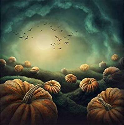 6x6ft Halloween Background View Abstract Photography Backdrop Prop Party