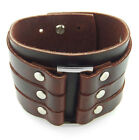 Leather Cuff Fashion Bracelets