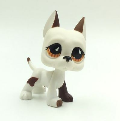 Littlest Pet Shop Dog White Great Dane Lps320 Cute Toys Puppy