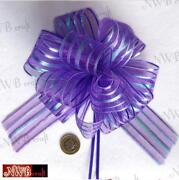 Large Purple Bow