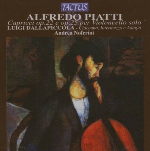 Andrea Noferini - Caprices for Solo Cello [New CD]