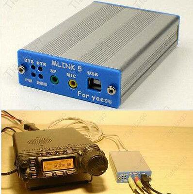 USB PC linker Adapter for YAESU FT-817ND 857D 897D ICOM IC-2720/2820 CAT CW data