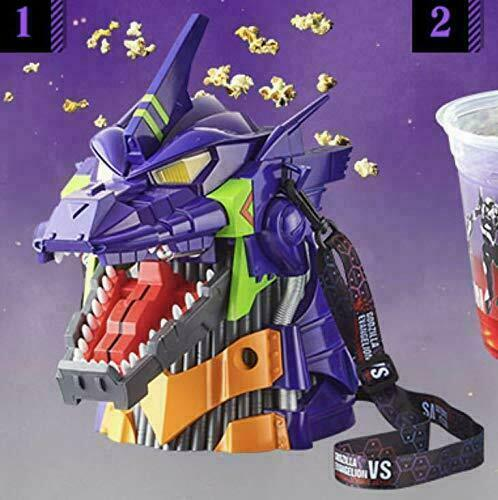 USJ Popcorn bucket case Godzilla vs Evangelion Universal studios japan 2019