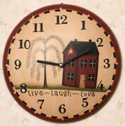 Primitive Wall Clock