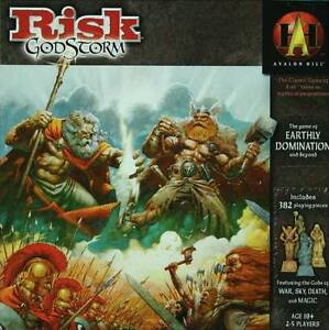 RISK Godstorm (rare!) and Stratego Legends - $25