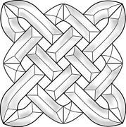 Beveled Glass Squares