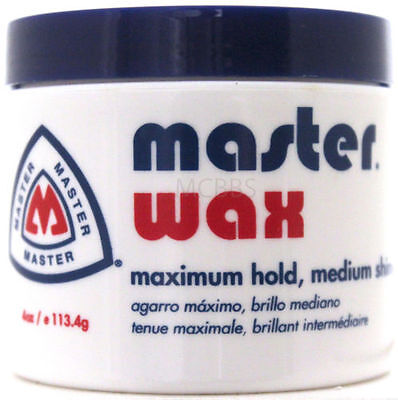 Master Well (MASTER WELL COMB HAIR WAX MAXIMUM HOLD MEDIUM SHINE 4)