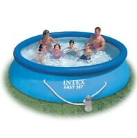 12' Inflatable Pool with everything you need!
