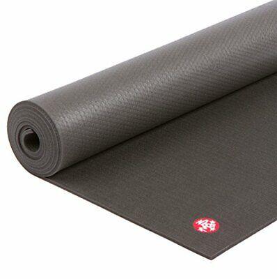 Manduka Pro Yoga Mat Black Mat PRO, Extra Long