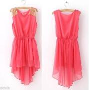 Women Chiffon Mini Dress