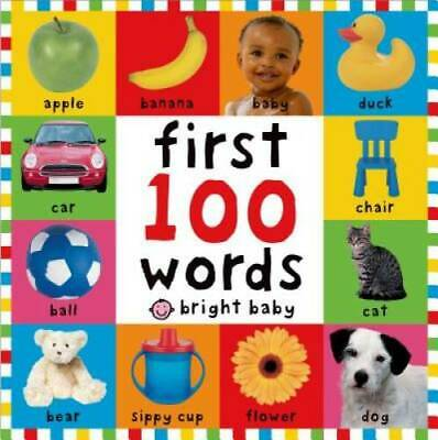 First 100 Words  - Board book By Priddy, Roger - GOOD