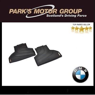 BMW Genuine All Weather Floor Mats Black Rear F25 F26 X3 X4 Series 51472286003