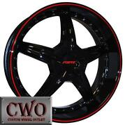 17 Black Rims 5 Lug