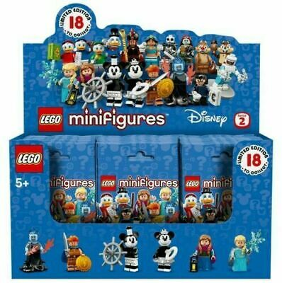 LEGO Disney Series 2 Minifigures Display Box Case with 24 Minifig Packs 71024 (Lego Minifig Box)