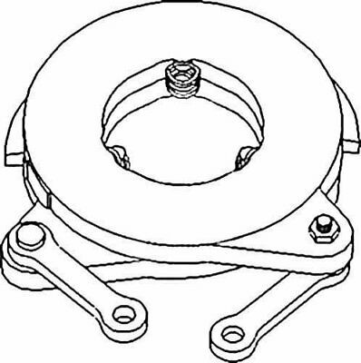 Brake Actuating Assembly Minneapolis Moline Jet Star M670 M5 M602 Oliver 1365