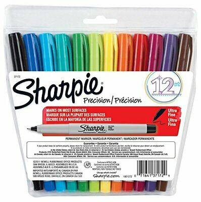 Sharpie Precision Ultra Fine Markers 12 Ct. 37172