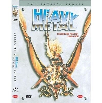 Heavy Metal (1981) DVD - Gerald Potterton (NEW) / NO CASE (Only Cover & Disc)