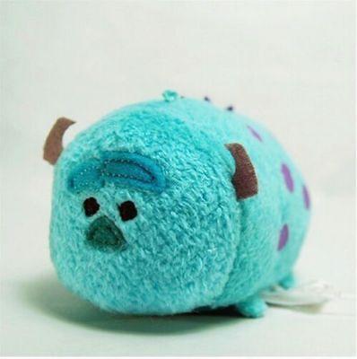 Disney TSUM TSUM Monsters Inc. Sullivan Mini Soft Plush Toys With Chain 3.5