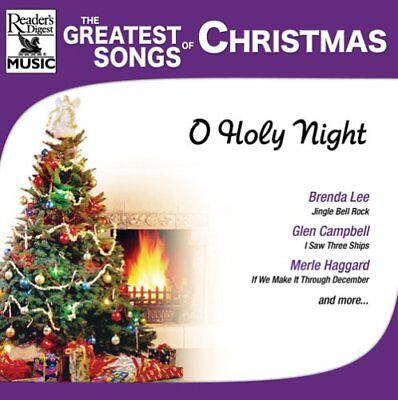 The Greatest Songs of Christmas: O Holy Night by Various Artists (CD, 2004)