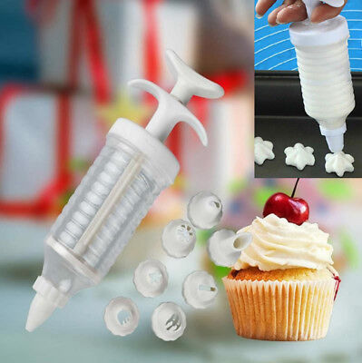 Icing Syringe Biscuit Decorator Making Tool Cupcake Churros Cookie Cake Maker