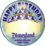 Disney Birthday Button