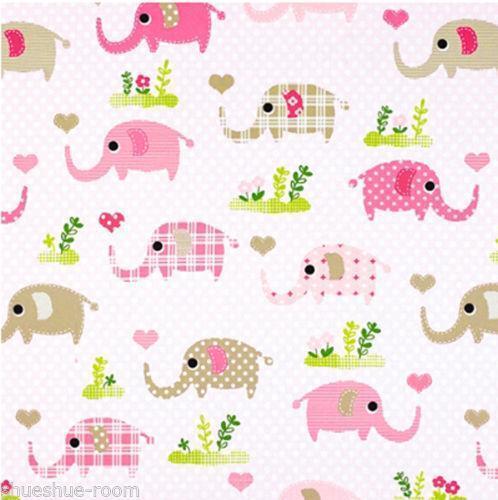 Elephant fabric ebay for Elephant fabric
