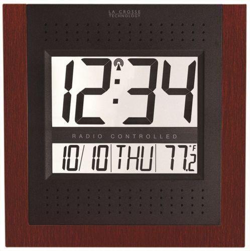 la crosse technology atomic digital wall clock manual