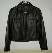 Gap Womens Leather Jacket