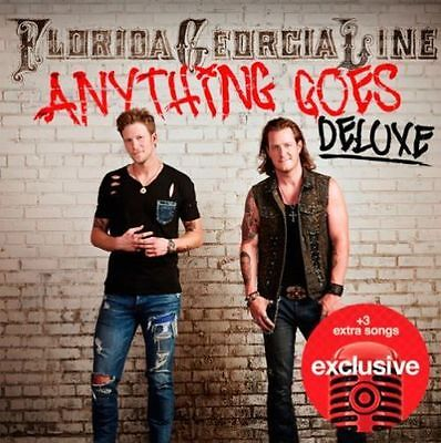 Florida Georgia Line - Anything Goes (Deluxe CD 2014) 15 trks Brand New & Sealed