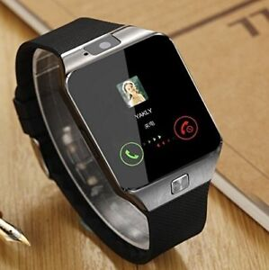 *-All-in-1 Watch Cell Phone Smart Watch Sync to Android IOS Smar