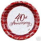 40th Anniversary Party Supplies