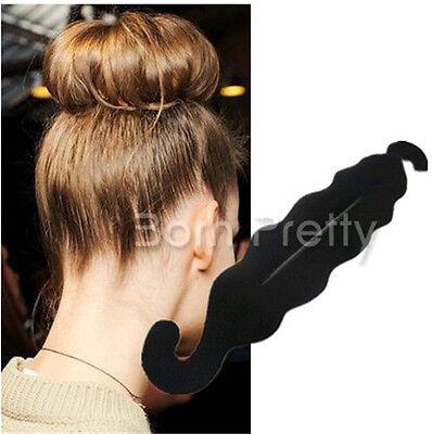 Haardreher Firsurenhilfe Hair Twister Haarband Schwamm Haarknoten Haardutt