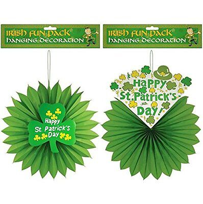 St Patrick's Tag 2 Packung 3D Hängende Dekoration - Happy st Patricks Day