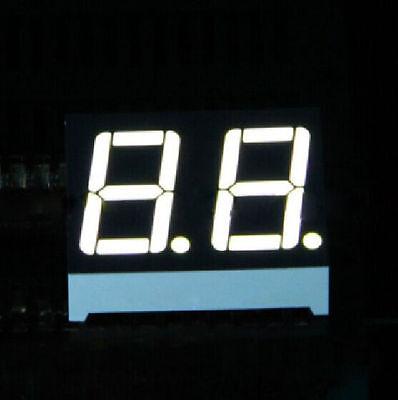 10pcs 0.56 Inch 2 Digit Led Display 7 Seg Segment Common Cathode White Static