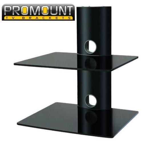 tv floating wall shelf ebay. Black Bedroom Furniture Sets. Home Design Ideas