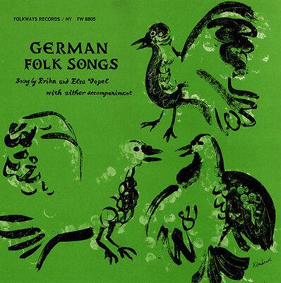 Erika & Elsa Vopel - German Folk Songs [New CD] ()