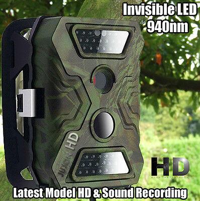 ⭐ Winterwatch Wildlife No Glow LED Animal Trap Trail 12MP HD Camera New UK ⭐