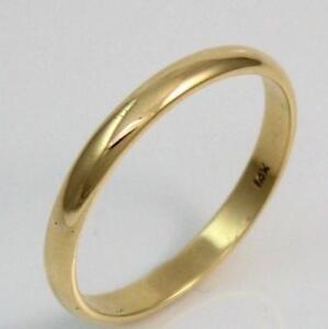 mens 14k gold wedding ring